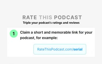rate this podcast tool