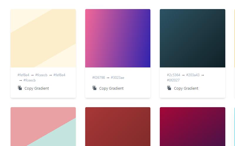 copy gradients