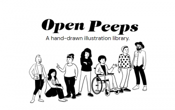 open peeps illustrations
