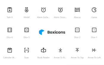 Box Icons Vectors Free Set