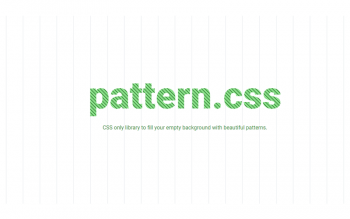 Css Pattern Background Library