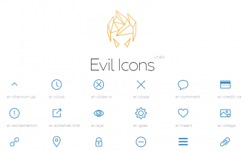 Evil Icons Free Svgs Clean Icon Pack