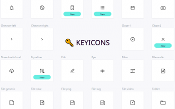 Key Icons Free Svgs Set