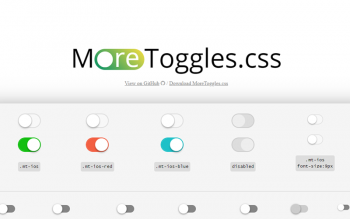 More Toggles Css Code