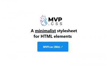 Mvp Css Minimalist Stylesheet