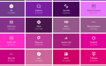 Svg Icons Of Popular Brands