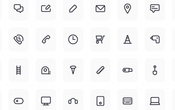 Line Icon Pack Free Collection