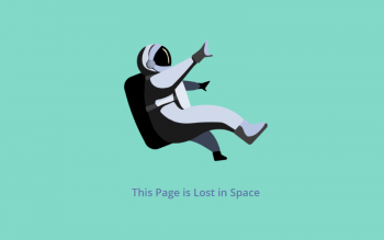 Trendy 404 Illustrations For Error Pages