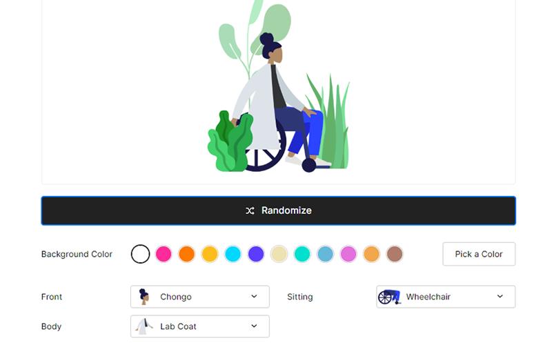 Blush Design Custom Illustrations Tool