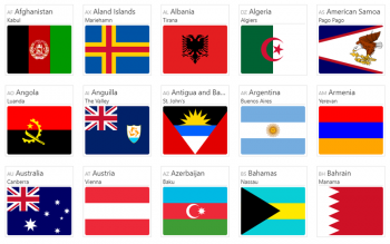 Country Flag Icons Free Svg