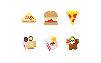 Delicious Design Food Illustrations Icons