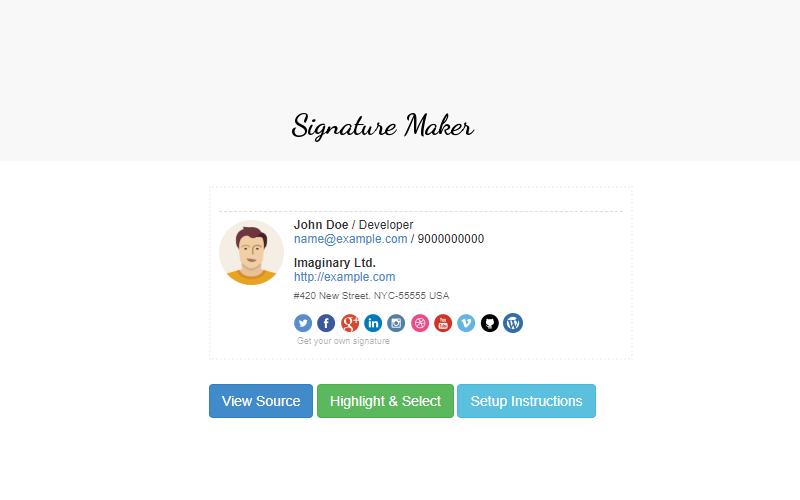 Free Signature Generator Tool