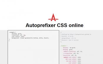 Autoprefixer Css Online Tool