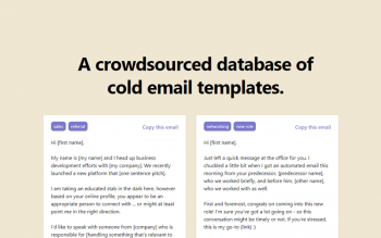 Cold Emails Templates By 99leads