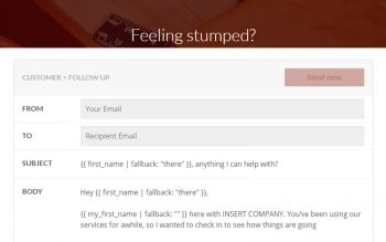 Contactually Template Generator Tool