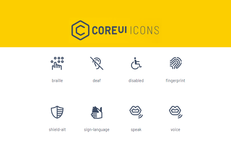Coreul Icons Collection