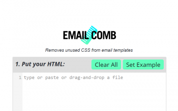 Email Comb Remove Css