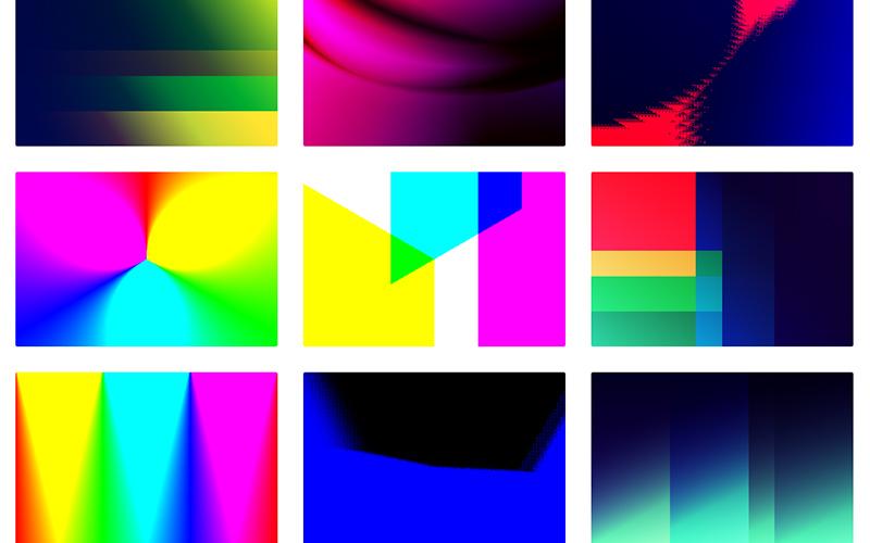 Gradienta Multi Color Background Gradients