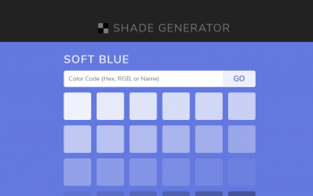 Shade Generators Close Colors