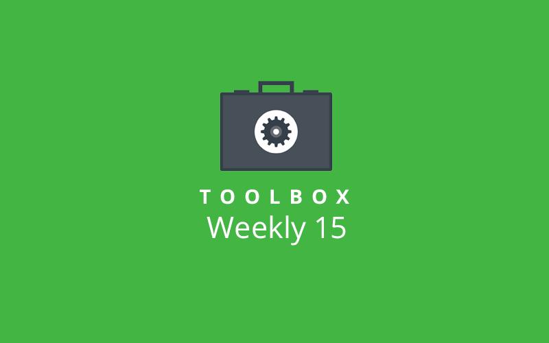 Toolbox Weekly 15 Image