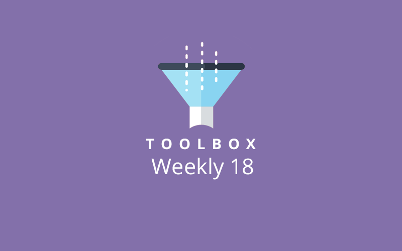 Toolbox Weekly 18 Image
