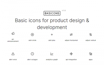 Basicons Icons Collection