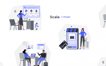 Scale By Flexiple Free Illustrations