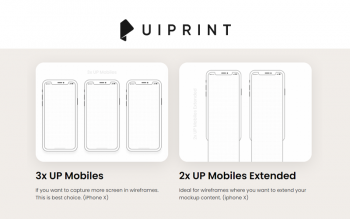 Uiprint Printable Wireframes Sketchpads