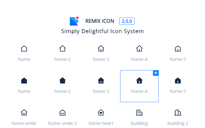 Remix Icons Open Source Svgs Collection