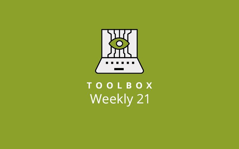 Toolbox Weekly 21 Image